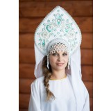 Russian folk costume KOKOSHNIKI Kokoshnik Nadezhda 16262