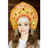 Russian folk costume KOKOSHNIKI Kokoshnik Tatyana 16281