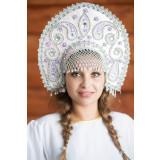 Russian folk costume KOKOSHNIKI Kokoshnik Tatyana 16282