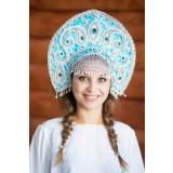 Russian folk costume KOKOSHNIKI Kokoshnik Tatjjana 16283