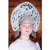 Russian folk costume KOKOSHNIKI Kokoshnik Tatjjana 16284