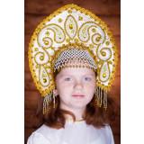 Russian folk costume KOKOSHNIKI Kokoshnik Tatjjana 16286