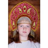 Russian folk costume KOKOSHNIKI Kokoshnik Uljjana 16289