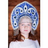 Russian folk costume KOKOSHNIKI Kokoshnik Uljjana 16290