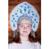 Russian folk costume KOKOSHNIKI Kokoshnik Uljjana 16294
