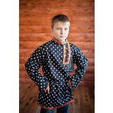 Russian folk costume KOSOVOROTKAS Kosovorotka Kuzya 16538