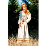 Russian folk costume SHIRT WOMEN 16753