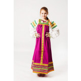 Russian folk costume Sundresses Sarafan Daria 16988