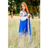 Russian folk costume Sundresses Sarafan Daria 17042
