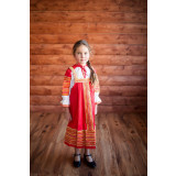 Russian folk costume Sundresses Sarafan Daria 17075