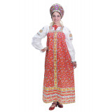 Russian folk costume SUNDRESSES Natalia Dress 17103