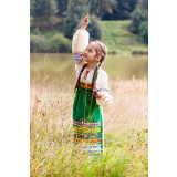 Russian folk costume APRONS 17177