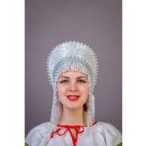 Russian folk costume KOKOSHNIKI Kokoshnik Olga 21892