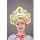 Russian folk costume KOKOSHNIKI Kokoshnik Elizabeth 21897