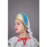 Russian folk costume KOKOSHNIKI Kokoshnik Irina 21899