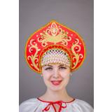 Russian folk costume KOKOSHNIKI Kokoshnik Kalinka 21900