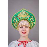 Russian folk costume KOKOSHNIKI Kokoshnik Kalinka 21901