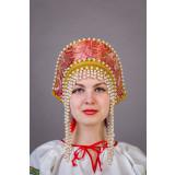 Russian folk costume KOKOSHNIKI Kokoshnik Olga 21903