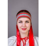 Russian folk costume KOKOSHNIKI Dressing Natalia 21906