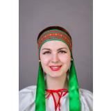 Russian folk costume KOKOSHNIKI Dressing Natalia 21908