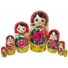 Nesting doll Semenovo 7 pcs