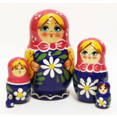 Nesting doll Sergiev-Posad 5 pcs. In assortment Masteritsa