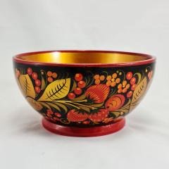 Khokhloma gift Bowl medium.