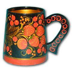 Khokhloma gift Mug small