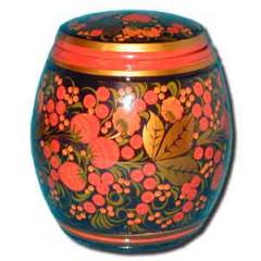 Khokhloma gift Barrel