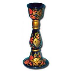 Khokhloma gift Candlestick big