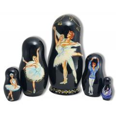 Nesting doll 5 pcs. Ballet