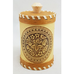 birch bark products tuesok for bulk products, floral ornament