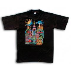T-shirt XL St. Bazils Cathederal M black