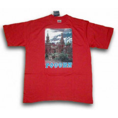 T-shirt L Kremlin L the red
