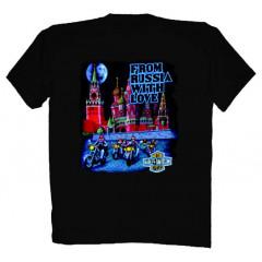 T-shirt L Harley-Davidson Kremlin L black