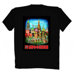 T-shirt M Moscow Red Square M black
