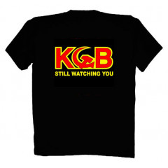 T-shirt XXL FSD 13 I'm working with KGB XXL black