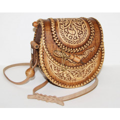 birch bark products women's handbag Bag female, the size 17 x 16 x 11