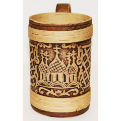 birch bark products mug Mug the Temple