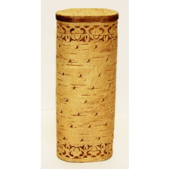 birch bark products box The spectacle-case, 16,5 x 6,5 x 4,2 cm.