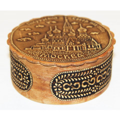 birch bark products box Boxt the Pokrovsk Cathedral