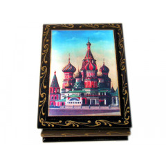 Lacquer Box Saint Basils Cathedral