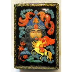 Lacquer Box Kholuy Ruslan and Head