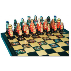 Chess set Chess set Palekh