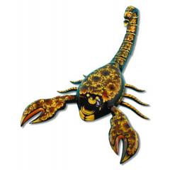Khokhloma gift Scorpius khohloma