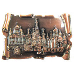 Magnet metal 027-2CU-19K35 Roll metal Moscow the Collage colour copper