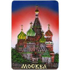 "Magnet polyresin 022-08-19-1 Magnit prjamoug.reljef.""Moskva. HVB"" krasn"