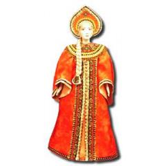 Doll handmade big In the national costume (ar1b)