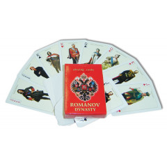 Playing cards 900-IR Emperors of Russia red