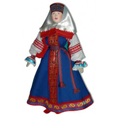 Doll handmade copyright Galina Maslennikova A1-17 Tver area